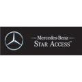 Mercedes logo linking to website